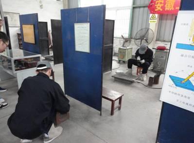 我校举办首届大学生焊接工艺技能大赛